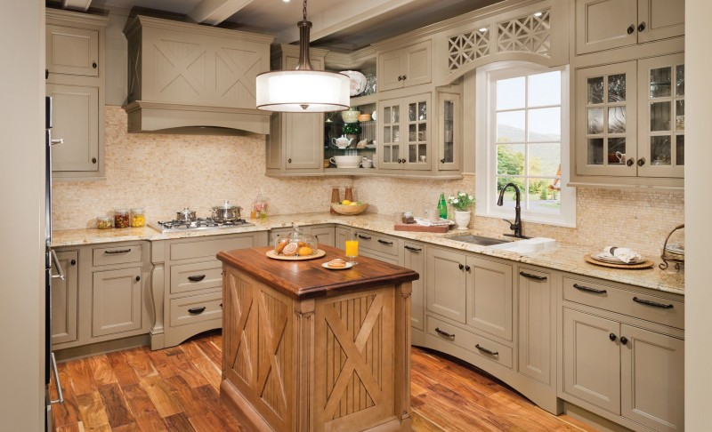 20 gorgeous kitchen cabinet design ideas for Ideas to redo old kitchen cabinets