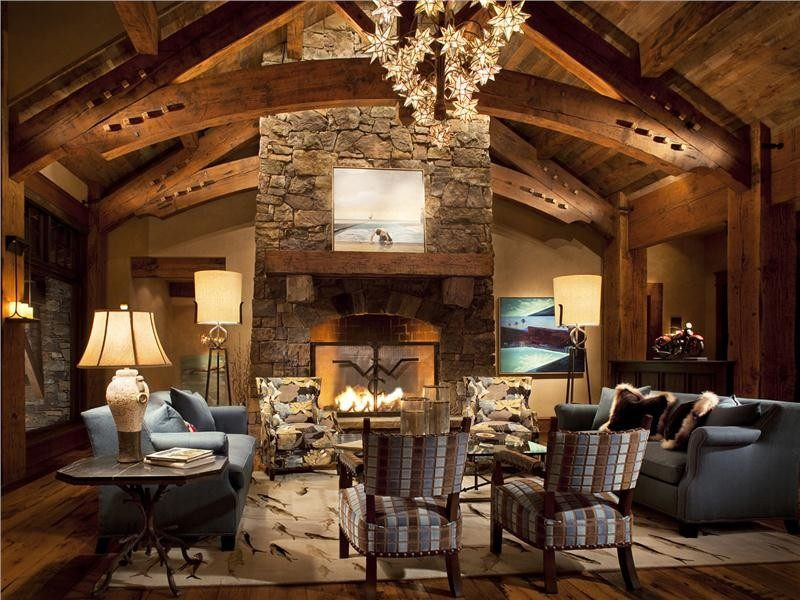 20 lavish living room designs with vaulted ceilings