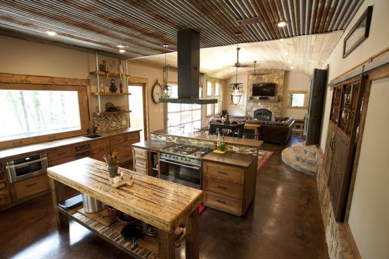 20 beautiful rustic kitchen designs for Kitchen style ideas 2016