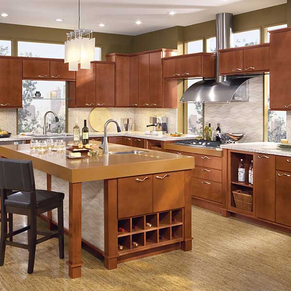 20 beautiful kitchen cabinet designs for Beautiful kitchen units designs