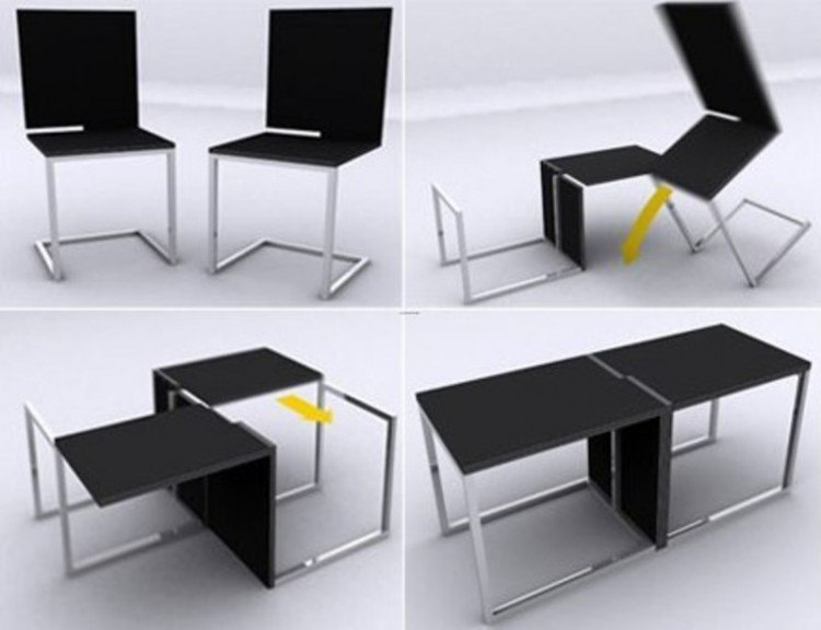 20 cool space saving furniture designs for your home Space saving furniture