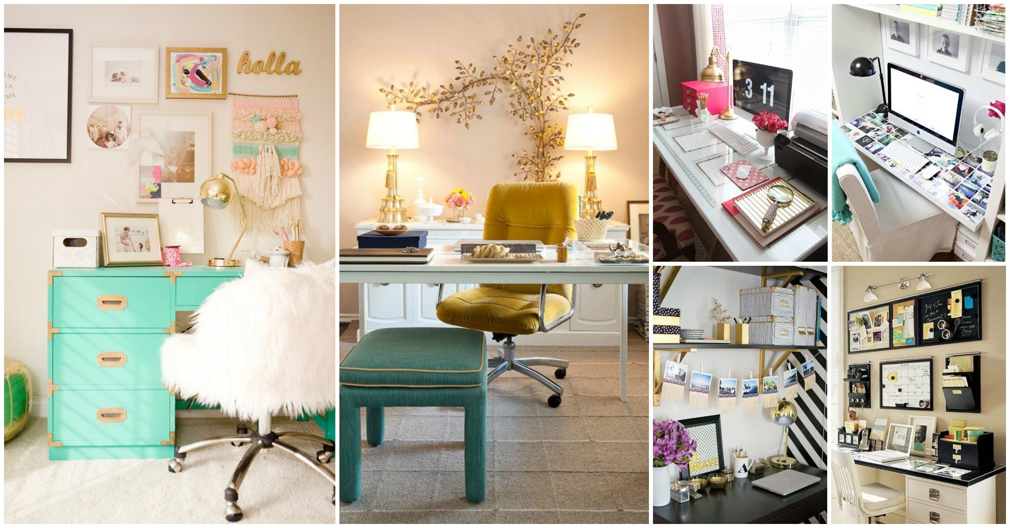 20 stylish office decorating ideas for your home Home ideas