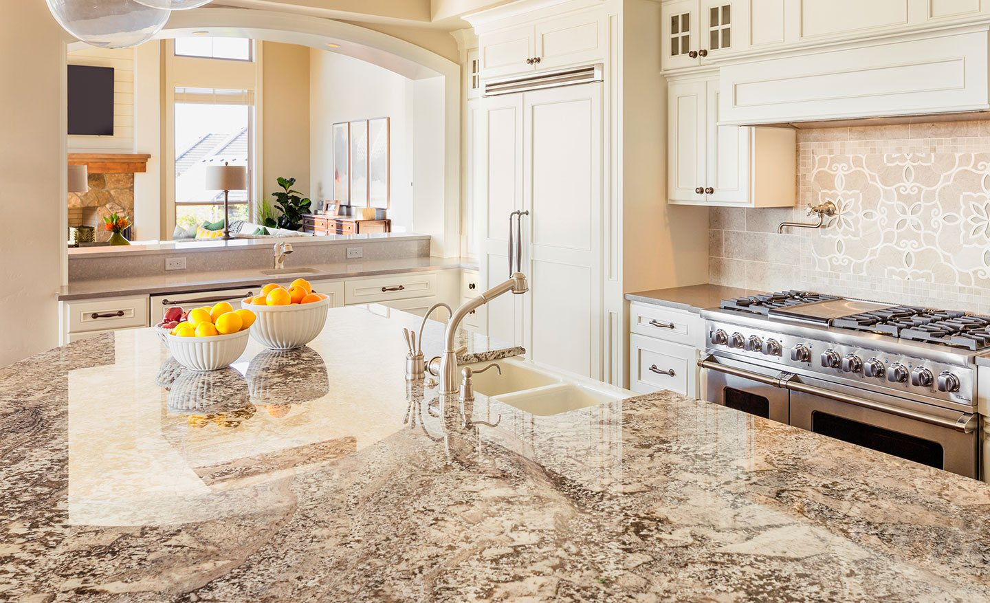 25 beautiful granite countertops ideas and designs Granite kitchen countertops pictures