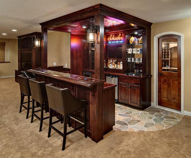20 Beautiful Pieces of Home Bar Furniture