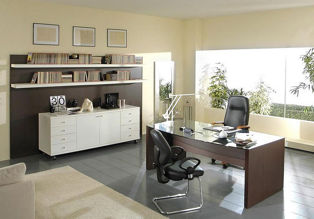 20 trendy office decorating ideas How to decorate a home office