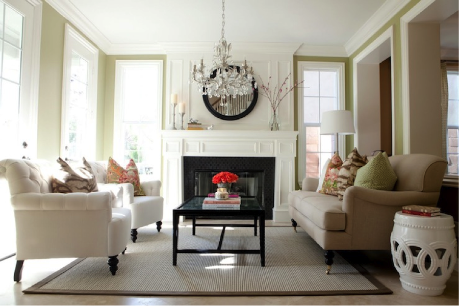 20 living room designs with beautiful chandeliers for How to makeover your living room
