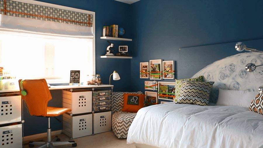 20 awesome boys bedroom ideas for Bedroom ideas 13 year old boy
