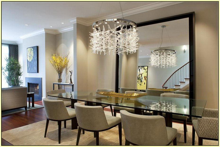 20 of the most beautiful dining room chandeliers - Modern home dining rooms ...