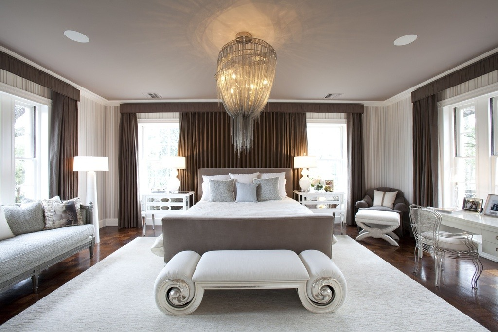 20 master bedroom designs with chandeliers Chandelier in master bedroom