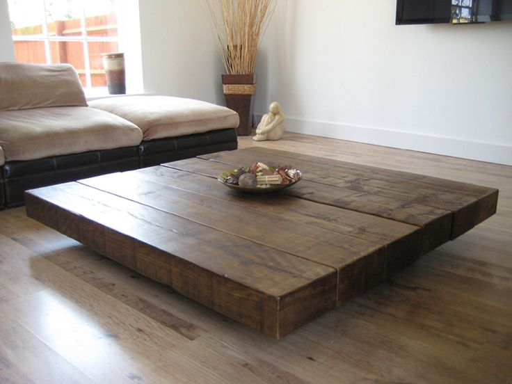10 large coffee table designs for your living room housely for Large low coffee table
